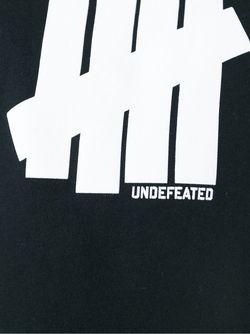 Толстовка С Принтом Логотипа Undefeated                                                                                                              чёрный цвет