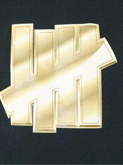 Толстовка С Принтом Логотипа Undefeated                                                                                                              черный цвет