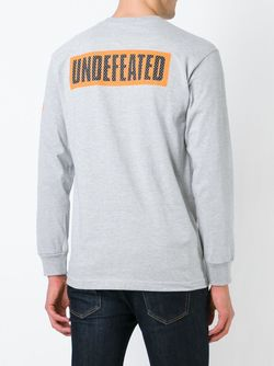 Кофта С Принтом Логотипа Undefeated                                                                                                              серый цвет