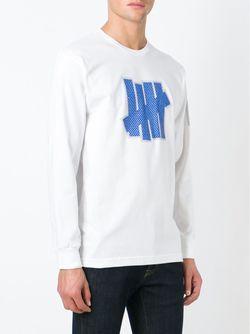 Кофта С Принтом Логотипа Undefeated                                                                                                              белый цвет