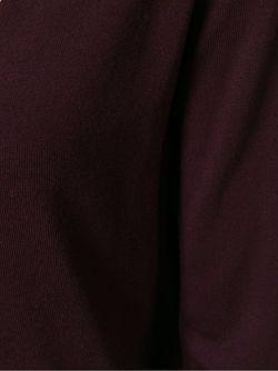 Свитер С Глубоким V-Образным Вырезом Aspesi                                                                                                              красный цвет