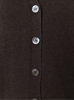 Кардиган С Короткими Рукавами Aspesi                                                                                                              коричневый цвет