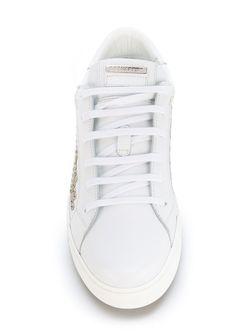 Кеды С Заклепками Dsquared2                                                                                                              белый цвет