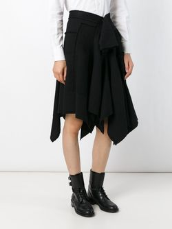 Асимметричная Юбка Y'S                                                                                                              чёрный цвет