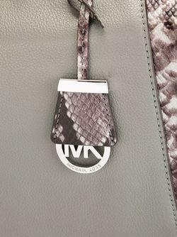 Средняя Сумка-Тоут Riley Michael Michael Kors                                                                                                              серый цвет