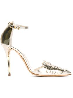 Туфли Fezra Oscar de la Renta                                                                                                              серебристый цвет