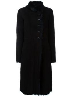 Пальто Из Овчины Joseph                                                                                                              черный цвет