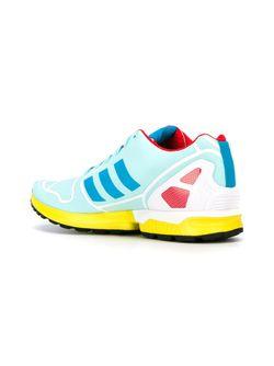 Кроссовки Zx Flux Hydra Og adidas Originals                                                                                                              синий цвет
