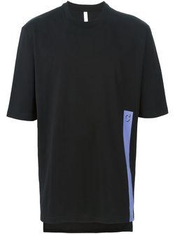 Футболка С Контрастной Полоской COTTWEILER                                                                                                              черный цвет