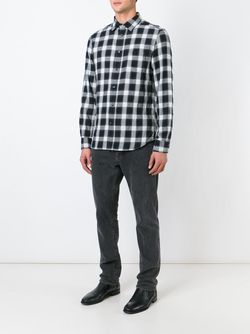 Рубашка В Клетку Gake Diesel                                                                                                              черный цвет