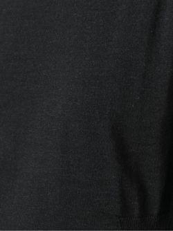 Свитер С Круглым Вырезом Roberto Collina                                                                                                              серый цвет
