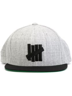 Кепка С Вышивкой Логотипа Undefeated                                                                                                              серый цвет