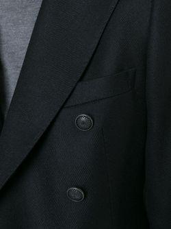Двубортный Пиджак Tagliatore                                                                                                              черный цвет
