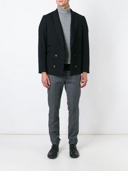 Двубортный Пиджак Maurizio Miri                                                                                                              черный цвет