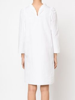 Платье С Плиссированным Воротником ATLANTIQUE ASCOLI                                                                                                              белый цвет