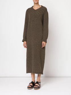 Длинное Платье-Свитер Joseph                                                                                                              коричневый цвет