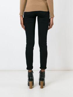 Skinny Classic Jeans Don'T Cry                                                                                                              черный цвет