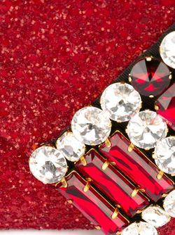 Декорированная Сумка На Плечо Gedebe                                                                                                              красный цвет