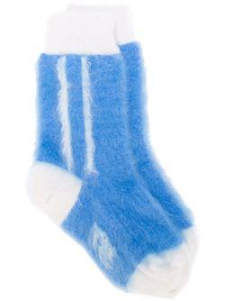 Полосатые Носки No21                                                                                                              синий цвет