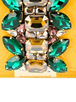 Декорированный Клатч Gedebe                                                                                                              желтый цвет