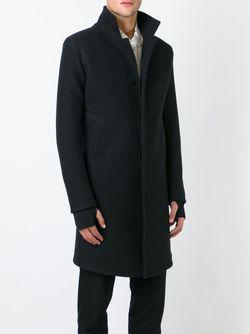 Однобортное Пальто 11 BY BORIS BIDJAN SABERI                                                                                                              черный цвет