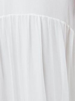 Прозрачное Платье Chloe                                                                                                              белый цвет