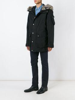 Hooded Parka Nudie Jeans Co                                                                                                              черный цвет