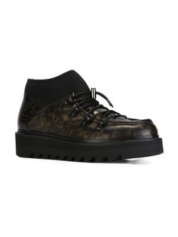 Lace-Up Boots Alberto Guardiani                                                                                                              чёрный цвет