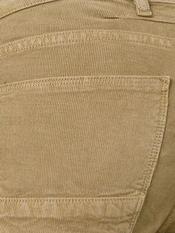 Ребристые Брюки Кроя Скинни Pt05                                                                                                              коричневый цвет
