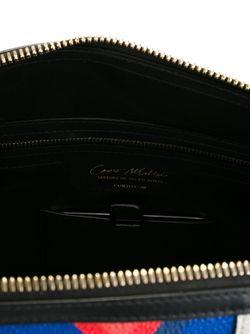 Сумка-Тоут С Панельным Дизайном Corto Moltedo                                                                                                              чёрный цвет