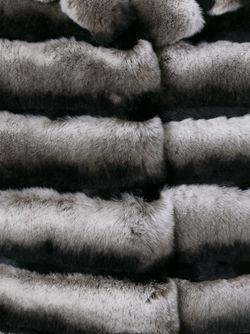 Жилет Из Кроличьего Меха Yves Salomon                                                                                                              черный цвет
