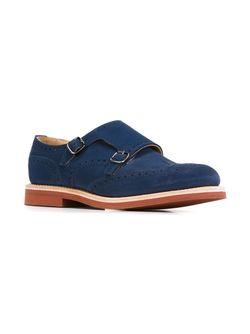 Туфли-Монки С Перфорацией Church'S                                                                                                              синий цвет