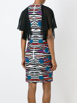 Striped Print Dress Roberto Cavalli                                                                                                              черный цвет