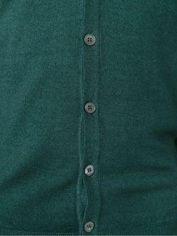 Кардиган С V-Образным Вырезом Zanone                                                                                                              зелёный цвет