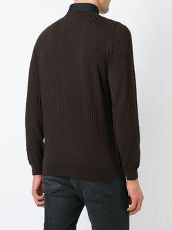 Свитер С Круглым Вырезом Zanone                                                                                                              коричневый цвет
