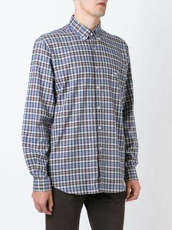 Клетчатая Рубашка С Воротником На Пуговицах Etro                                                                                                              многоцветный цвет