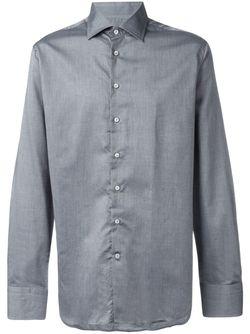 Классическая Рубашка Etro                                                                                                              серый цвет