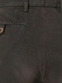 Брюки-Чинос Со Складками Etro                                                                                                              коричневый цвет