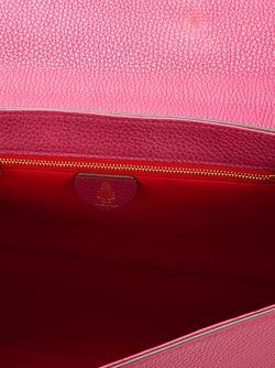 Сумка-Тоут С Откидным Клапаном Mark Cross                                                                                                              розовый цвет