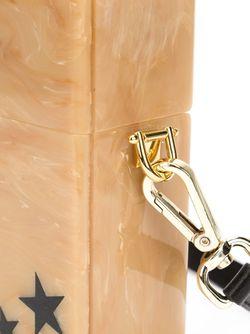Клатч С Рисунком Звезд EDIE PARKER                                                                                                              Nude & Neutrals цвет