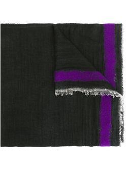 Шарф Little Double Faliero Sarti                                                                                                              чёрный цвет