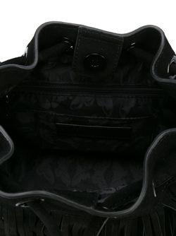 Сумка-Мешок С Бахромой Rebecca Minkoff                                                                                                              черный цвет