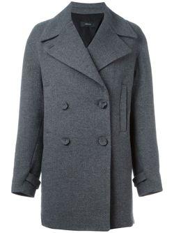 Двубортное Пальто Joseph                                                                                                              серый цвет