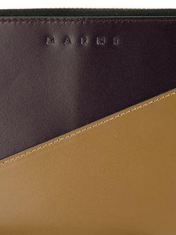 Двухцветный Клатч Marni                                                                                                              Nude & Neutrals цвет