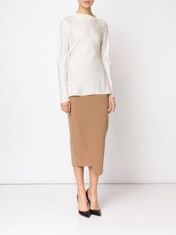 Nilonas Skirt By Malene Birger                                                                                                              Nude & Neutrals цвет