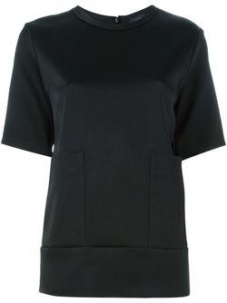Patch Pocket T-Shirt Joseph                                                                                                              чёрный цвет