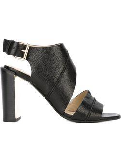 Cut-Out Sandals See By Chloe                                                                                                              черный цвет