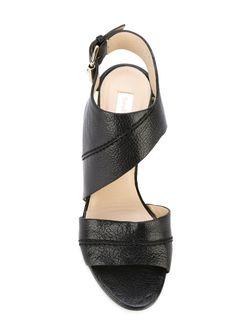 Cut-Out Sandals See By Chloe                                                                                                              чёрный цвет