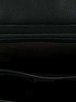 Портфель С Пряжками Salvatore Ferragamo                                                                                                              черный цвет
