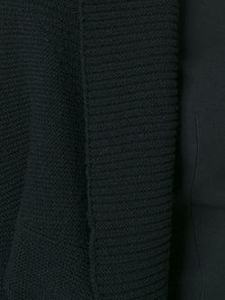 Кардиган С Закругленными Краями Giorgio Armani                                                                                                              черный цвет